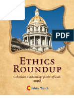 Ethics Roundup 2008