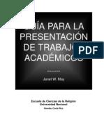 Guía para la Presentación de Trabajos Académicos