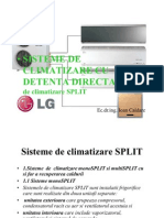 Sisteme de Climatizare Cu Detenta Directa Power Point Presentation