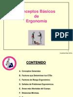 Conceptos Básicos de Ergonomía