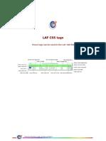LAF CSS Properties
