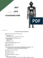 Acupuncture 1A Classement Des Points d Acupuncture