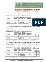 108 Soldadura Blanda Estano-plata