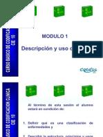 Descripcion y Uso de La CIE 10