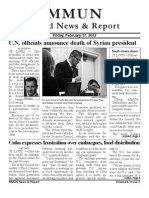 MMUN World News and Report Issue 3