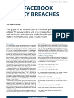 Basic Facebook Privacy Breaches 2011
