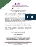 EXIGIMOS TRANSPARENCIA EN LA JUSTICIA ALTO AL TRÁFICO DE INFLUENCIAS