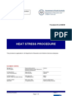 Heat Stress Procedure