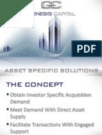 Genesis Capital Asset Specific Solutions Brochure