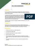 Curso Excel 2010 Avanzado