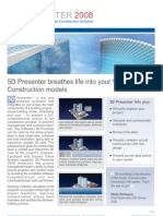 5dPresenter 2008 Brochure View