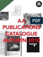 AA Publications Catalogue 10-11