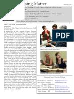 DVC-GBW February 2012 Newsletter