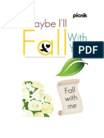 Maybe I'll Fall With You (A Novel) - Whyte.Rhose
