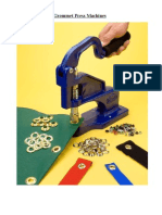 All You Need To Know About Grommet Press Machines