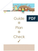 Planning With Kids Free Checklists