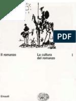 Il Romanzo (Einaudi) I - La Cultura Del Romanzo (III Pt.)