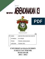 MERENCANAKAN K3