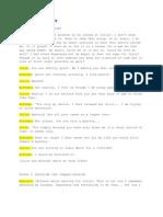 Dead Stars Script