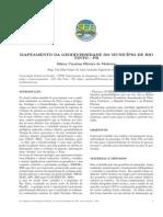 Mapeamento da Geodiversidade do Município de Rio Tinto - PB