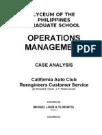 CSAA Analysis