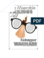 The Miserable Failings of A Kidnapper Wannabe (A Novel) - Whyte.Rhose