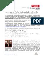 10_Boletín, Cátedra de Miguel Carbonell