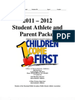 Student Athlete Packet 11-12 (Final)