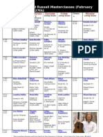 David Russell Master Classes 2012