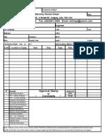 Rental Days Sheet