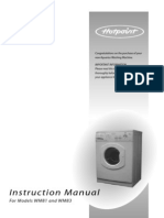 Hotpoint Wm81 Manual