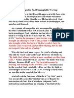 Are You Worshipping God in Spirit and in Truth Message Two