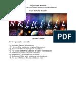 Design an Alien Workbook