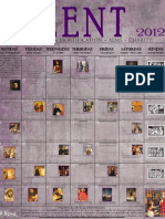 Joyfilled Family 2012 Lenten Calendar - Trad