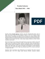 Presiden Soekarno