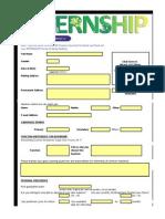 ULI Internship Application Form Final