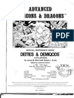 TSR 2013 - Deities and Demigods