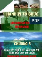 Utf-8''Chuong 5 Oragnizational Culture