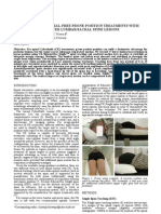 Feasibility of fiducial-free prone-position treatments with CyberKnife for lower lumbar/sacral spine lesions