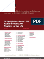 51224 Audio Production Studios in the US Industry Report