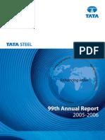 Tata Steel Balance Sheet 2005-06