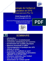 Physiologie de l'enfant et application en EPS