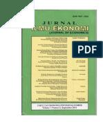 jurnal ilmu ekonomi