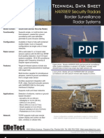 Technical Data Sheet - HARRIER Border Security Radar 120102