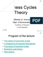 Economic Cycles 1