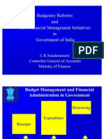 Budgetary Reforms and New Financial Management Initiatives_CRSundaramurti