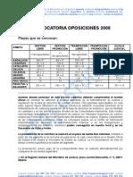 0HI 081120 Convocatoria oposiciones