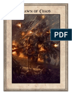 Pawn of Chaos - A Warhammer 40000 Campaign