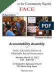 2012 Accountability Assembly
