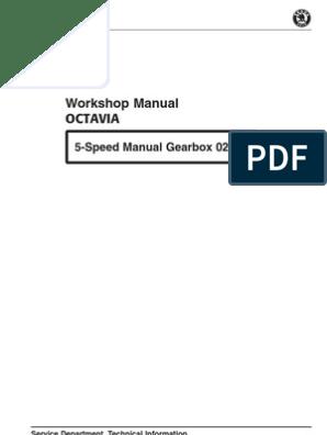 Manual Skoda Octavia - gearbox m5 02K | Manual Transmission